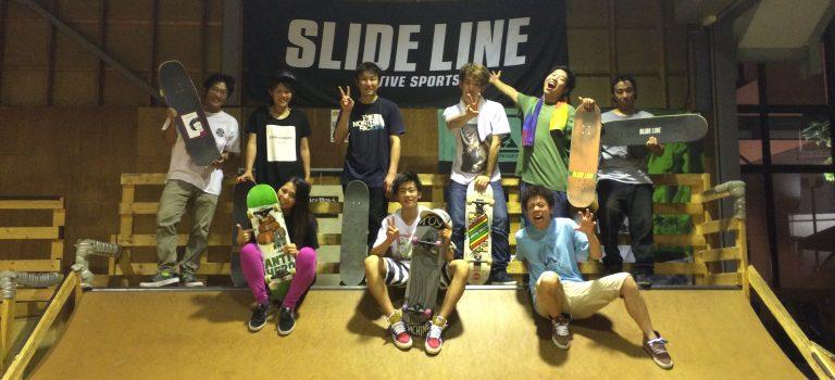 SLIDE LINE 大人スケートスクール 8月5日